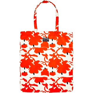 Autros Estampado - Donald Sultan Tote Bag, Blanco front