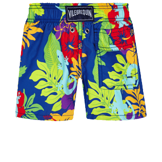 Boys Others Printed - Boys Swim Trunks Les Geckos, Batik blue back