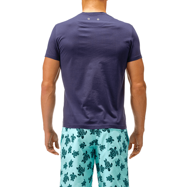 Vilebrequin - T-shirt en Coton mercerisé Homme Uni - 5