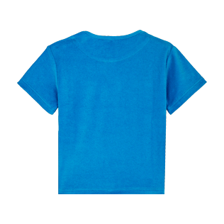 Boys Others Solid - Boys T-Shirt Terry Cloth Solid, Hawaii blue back