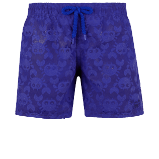 Boys Others Magical - Boys Swim Trunks Water-reactive Crabs, Royal blue frontworn