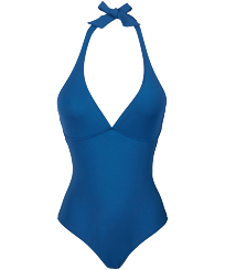 Women One piece Solid - Women shaping One-piece Swimsuit Solid, Goa front