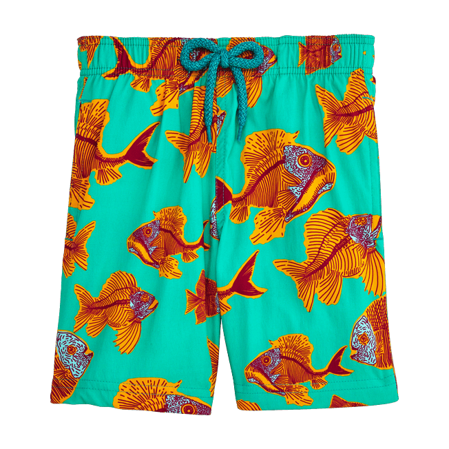 Vilebrequin - Prehistoric Fish Superflex Swim Shorts - 1