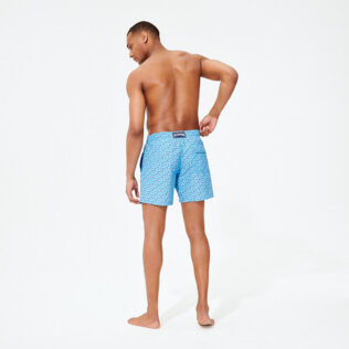 Men Classic Printed - Men Swim Trunks Micro Ronde des Tortues, Jaipuy backworn
