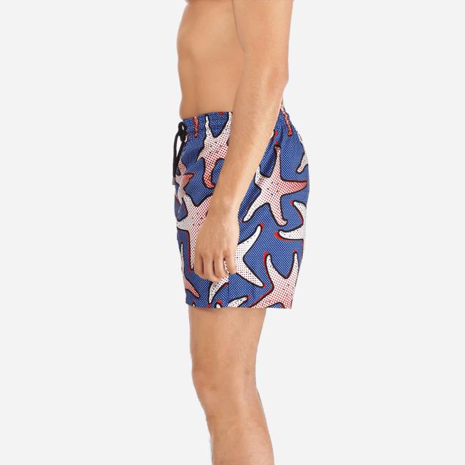 Vilebrequin - Maillot de bain Homme Ultra Léger et Pliable Starfish Art - 7