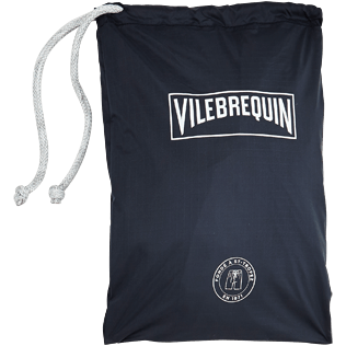 Others Embroidered - Oversize embroidered foldable bag Vilebrequin Labels, Navy supp2