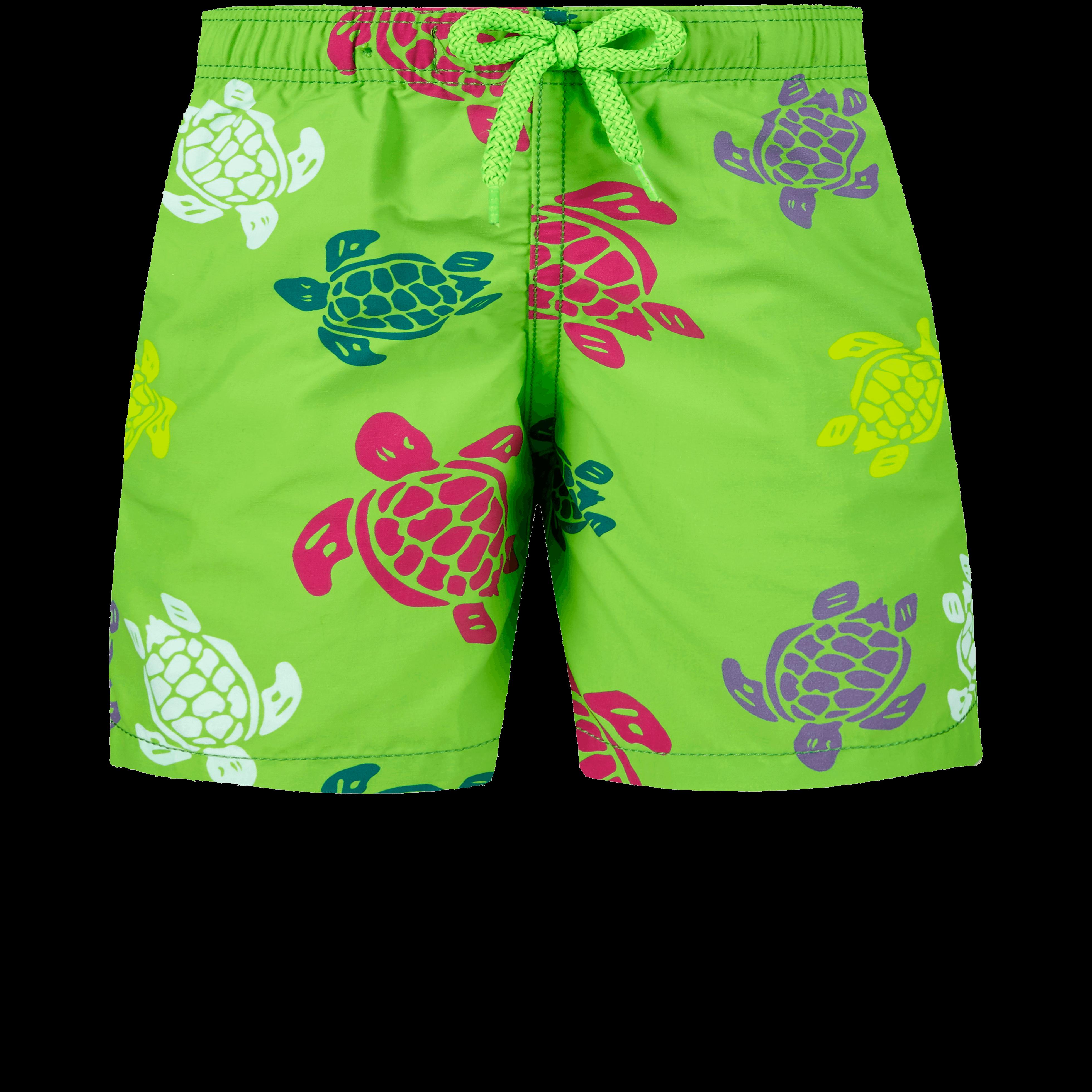 VILEBREQUIN | Boys Swimwear - Boys Swimwear Tortues Multicolores - SWIMMING TRUNK - JIM - Green - 14 - Vilebrequin | Goxip