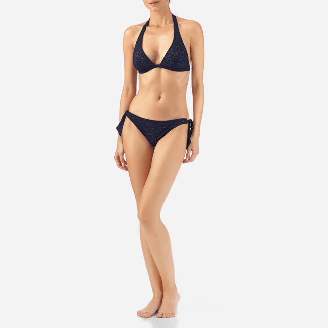 Vilebrequin - Micro Ronde des Tortues Triangle shape bikini top - 2