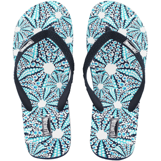 Men Others Printed - Men Flip Flops Oursinade, Navy front