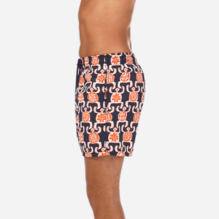 Men Classic / Moorea Printed - Primitive Turtles Swim shorts, Navy supp3
