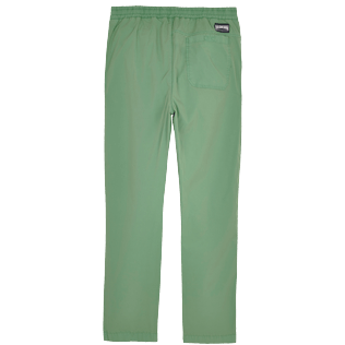 Herren Andere Uni - Men Cotton Jeans Uni, Grass green back
