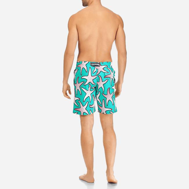 Vilebrequin - Maillot de bain Stretch Homme Starfish Art - 4