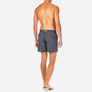 Men Classic Printed - Micro Ronde des Tortues Swim shorts, Navy backworn