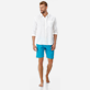 Men Others Solid - Men Linen Shirt Solid, White supp3