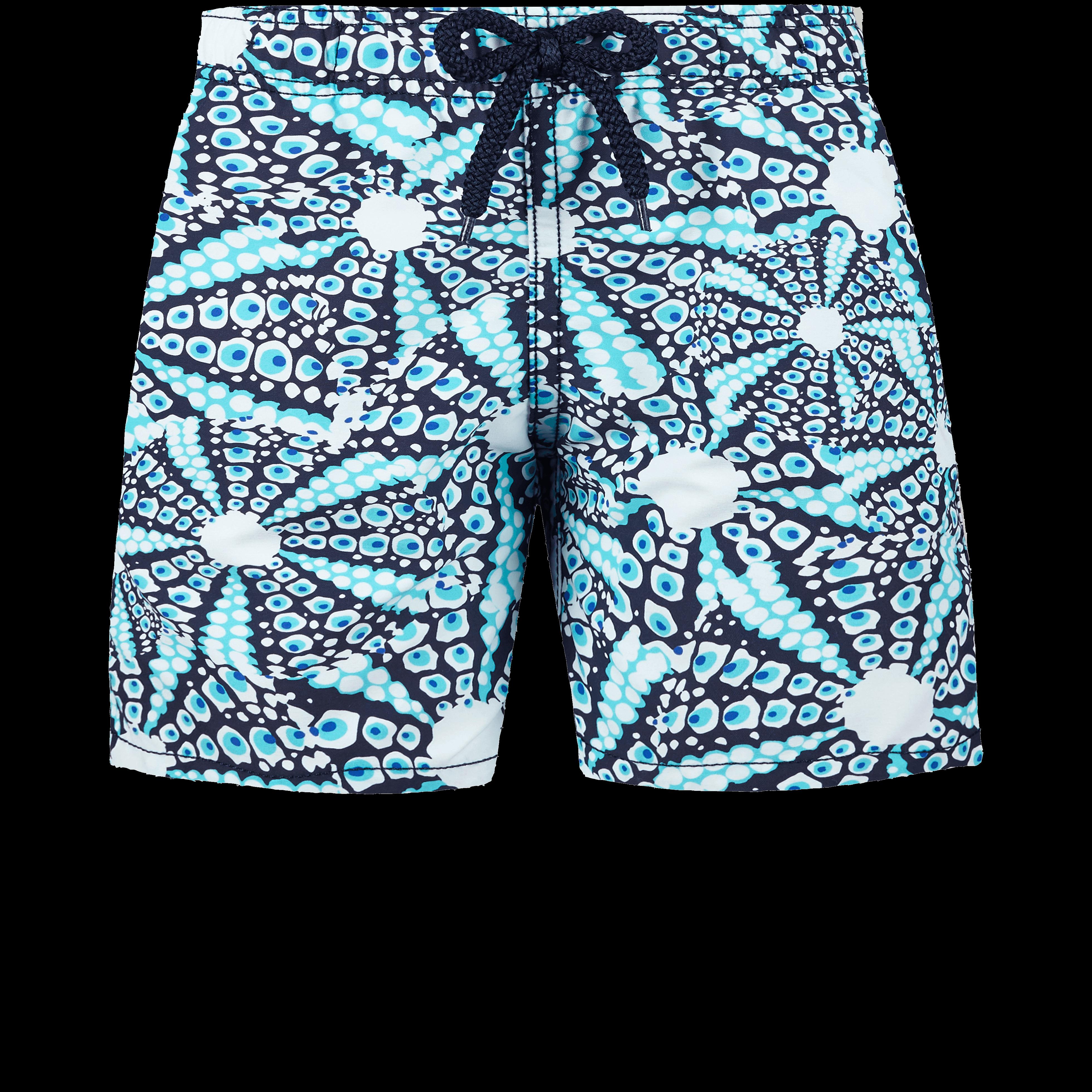 VILEBREQUIN | Boys Swimwear - Boys Swimwear Oursinade - SWIMMING TRUNK - JIM - Blue - 14 - Vilebrequin | Goxip