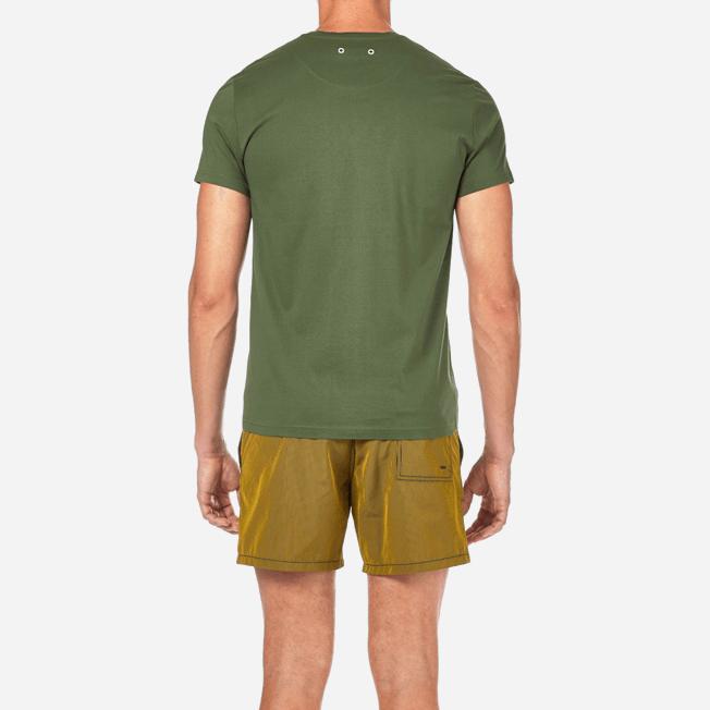 Vilebrequin - Solid V-neck Mercerized cotton T-Shirt - 6