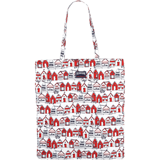 Bags Printed - Tarte Tropezienne Beach bag, Poppy red front