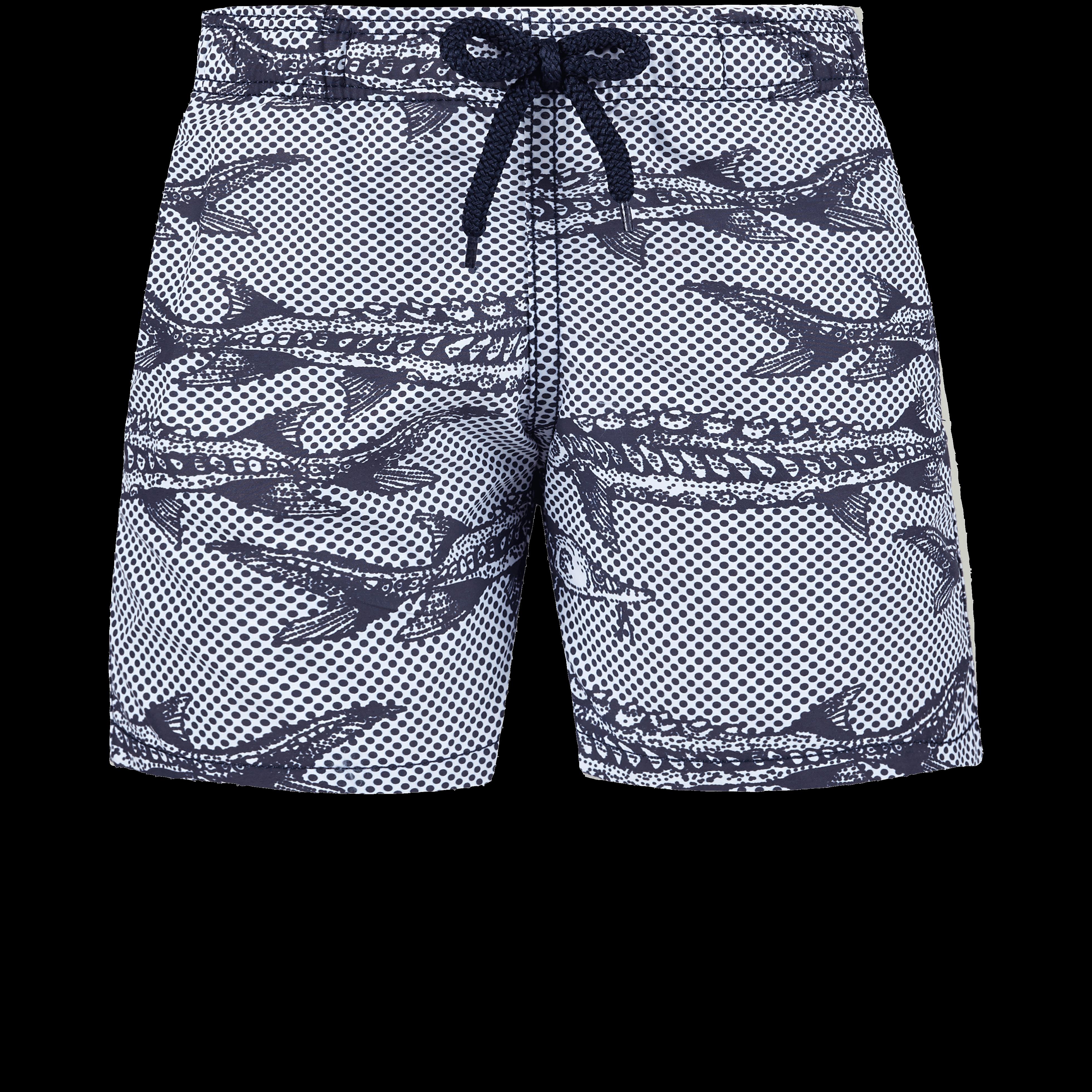 VILEBREQUIN | Boys Swimwear - Boys Swimwear Belle ou Gars - SWIMMING TRUNK - JIM - White - 14 - Vilebrequin | Goxip