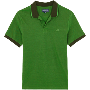 Men Others Solid - Men Cotton Polo Shirt Solid, Pepper front