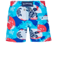 Boys Others Printed - Boys Swimwear 360 printed Mappemonde Dots, Light azure back