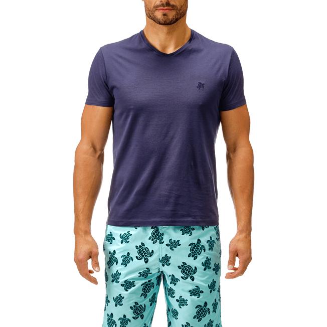 Vilebrequin - T-shirt en Coton mercerisé Homme Uni - 4