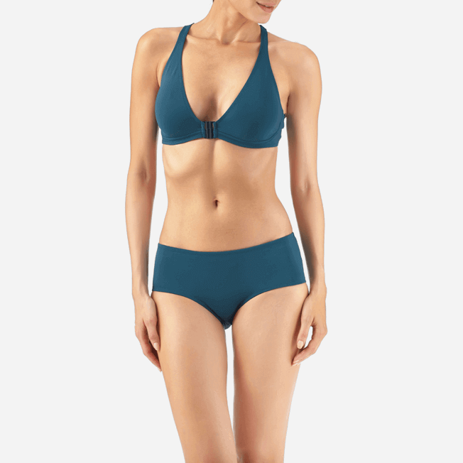 Vilebrequin - Shaping Solid Water Bikini bottom - 4