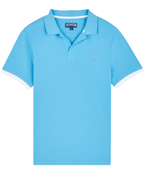 Men Others Solid - Men Cotton Pique Polo Shirt Solid, Jaipuy front