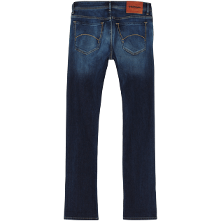 Uomo Altri Uni - Pantaloni uomo regular fit a 5 tasche, Med denim w2 back