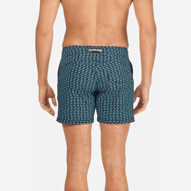 Vilebrequin - Men Stretch Swimwear Modernist Fish - 6