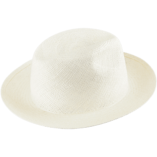 Others Solid - Unisex Natural Straw Panama Hat Solid, Sand front