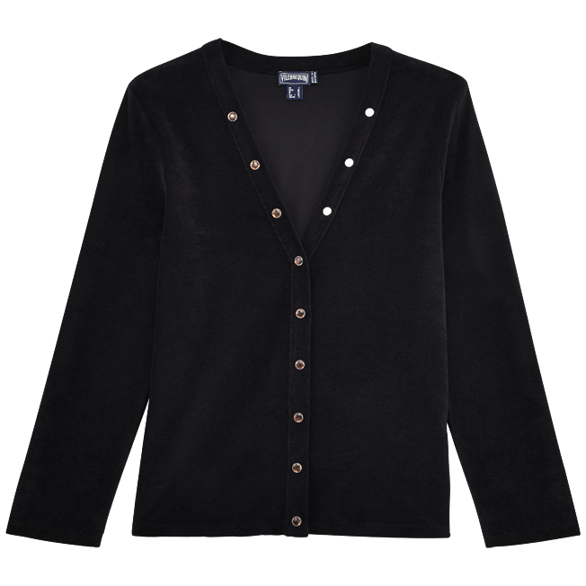 Vilebrequin - Women Terry Cloth Cardigan Sweaters Solid - 1