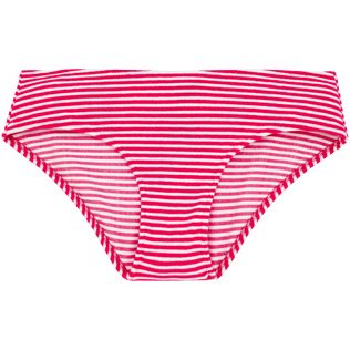 Mujer Bottoms Gráfico - Braguitas de bikini con estampado Graphic, Shocking pink front
