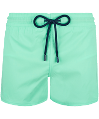Men Short classic Solid - Men Swimwear Short and Fitted Stretch Solid, Cardamom front