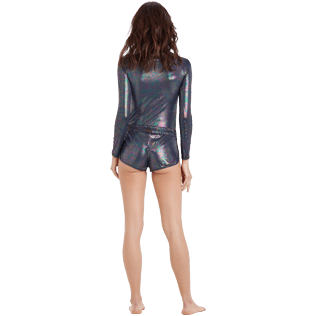 Damen Andere Bedruckt - Moonlight Badeshorts für Damen, Irisdescent backworn