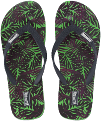 Men Others Printed - Men Flip Flops Madrague, Grass green front
