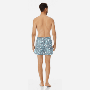 Men Classic Printed - Men swimtrunks Oursinade, Navy backworn