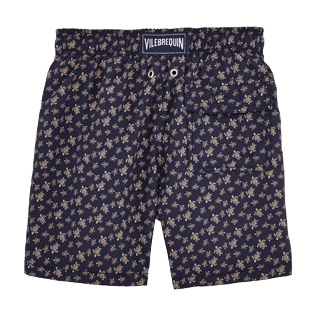 Boys Classic / Moorea Printed - Micro Ronde des Tortues Swim Shorts, Navy back