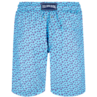 Men Long classic Printed - Men Swim Trunks Long Micro Ronde des Tortues, Jaipuy back