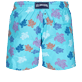 Men Classic Printed - Men Swimwear Ronde des Tortues Indies, Lazulii blue back