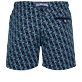 Men Classic Embroidered - Men Swim Trunks Embroidered Nataraja - Limited Edition, Sapphire back