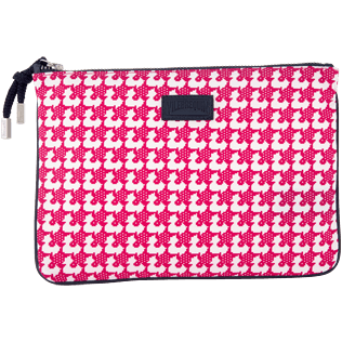 Bags Printed - Baby Trop' Zipped case, Shocking pink front