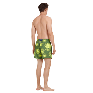 Men Ultra-light classique Printed - Men Swimtrunks Ultra-light and packable Poulpes, Sycamore backworn