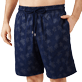 Homme CLASSIQUE LONG Imprimé - Maillot de bain Homme Long Stretch Diamond Turtles, Bleu marine supp1