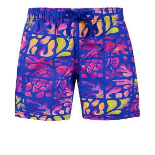 Boys Others Printed - Boys Swimwear Phuket, Sea blue front
