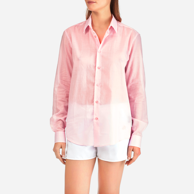 Vilebrequin - Unisex Cotton Shirt Solid - 10