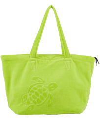Others Solid - Large Beach Bag Solid, Lemongrass front