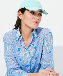 Others Solid - Unisex Cap Solid, Lagoon frontworn