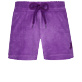 Girls Others Solid - Girls Terry Cloth Shortie Solid, Orchid front
