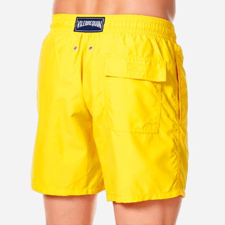 Men Classic Solid - Men swimtrunks Solid, Citron supp1