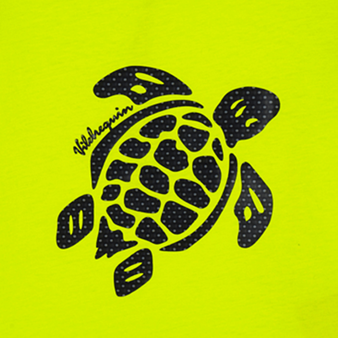 男童 Turtles 3D全棉 T 恤, Lemongrass pattern